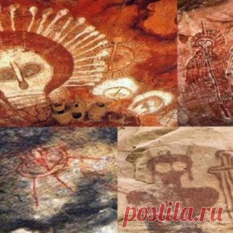 Древние рисунки в пещерах Чарама - изображения инопланетян? | Журнал РЕПИН.инфо
