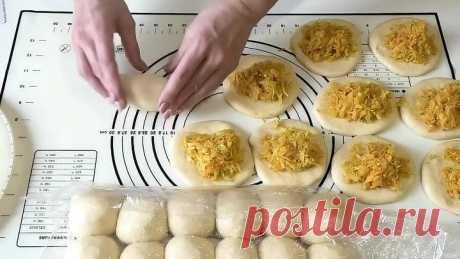 ДРОЖЖЕВОЕ ТЕСТО НА КЕФИРЕ для пирожков с любой начинкой. Пирожки с капустой