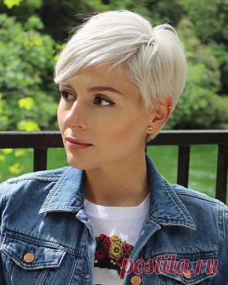 5 стрижек для женщин, которым не нужна укладка (фото) | Женский журнал | Яндекс Дзен