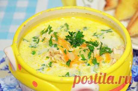 Сырный суп с плавленым сырком: 7 простых и вкусных рецептов на каждый день Доброго дня! Сырный суп, как следует из названия, отличается от обычного тем, что главным ингредиентом здесь является сыр. Плавленый или