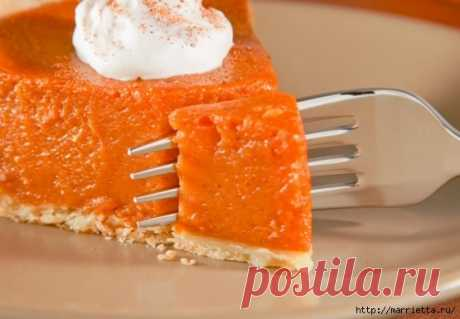 Один из лучших способов приготовить тыкву: аппетитный американский пирог | Мой милый дом