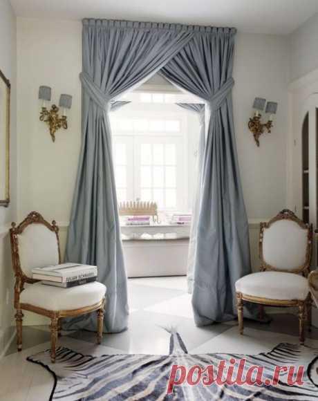 Como renovar las cortinas viejas: 10 decisiones brillantes Si las cortinas viejas le han aburrido, no tenéis prisa librarse de ellos. Añadan a ellos algunas líneas originales – y transformen el interior que ha aburrido sin gastos serios