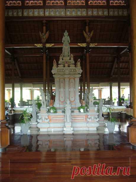 Отель Айодия. Нуса-Дуа. Бали.