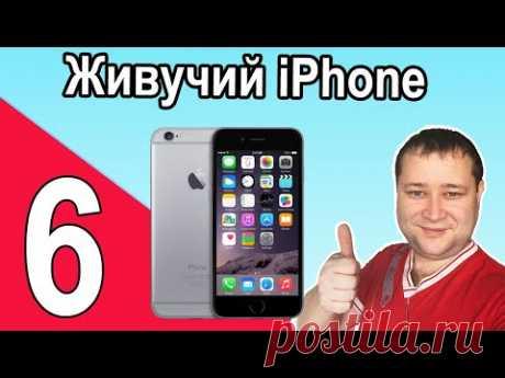 iPhone 6 - опыт использования смартфона от Apple - YouTube