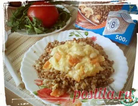 Гречка с фасолью в сметанном соусе – кулинарный рецепт