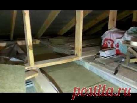 Утепление потолка в доме с холодной крышей – выбираем один из способов