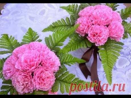 CÓMO HACER una FLOR DE PAPEL - Flores de papel / MANUALIDADES y BONITAS para el DÍA DE LA MADRE