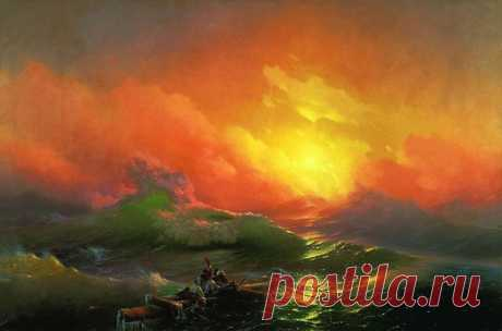 Восхитительные картины Айвазовского