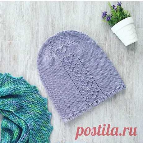 Милые шапочки с теневыми узорами из категории Интересные идеи – Вязаные идеи, идеи для вязания