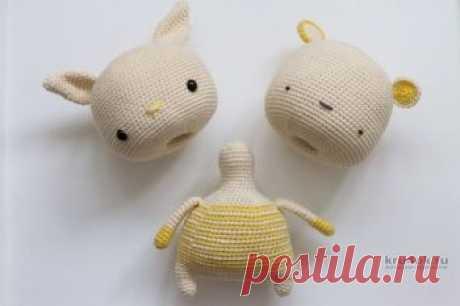 Описание вязания крючком игрушки «CHANGE-IMAGE-TOY» (игрушка смени образ) Работа Александры Янковской. Этот небольшой и скромный труд расскажет вам, как создавать необычную игрушку, имеющую одно тело и две (или более) головы. Конечно,