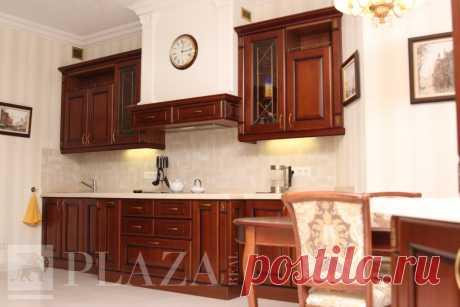 Кухня «Аврора + мебель» на заказ в СПб от производителя PlazaReal