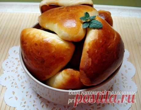 Пирожки с яйцом и луком в духовке, пошаговый рецепт с фото