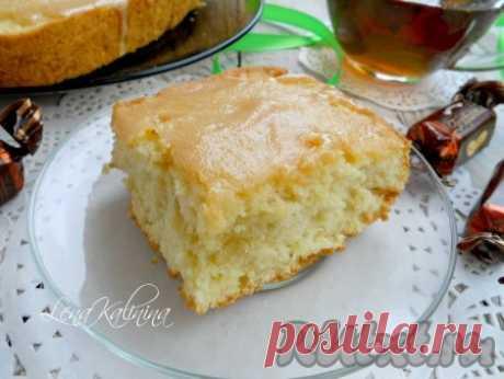 Рецепт нежного бисквита (на сливочном масле)