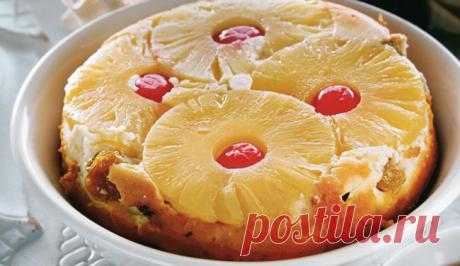 Нежная шарлотка с ананасами: рецепты приготовления в духовке и в мультиварке