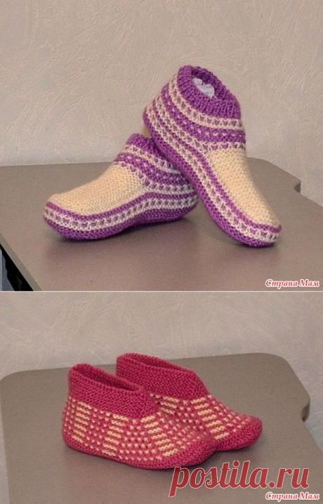 Носки, носки, носки... спицами. - Вязание - Страна Мам