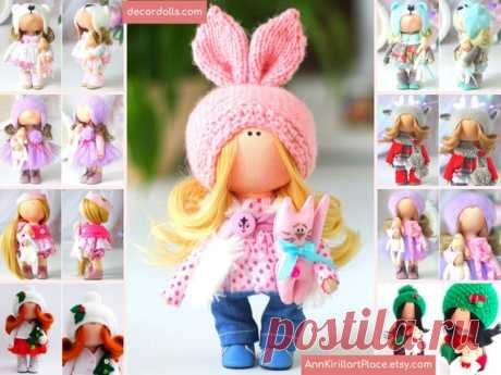 Bunny Doll Handmade Christmas Decor Doll Winter Interior   Etsy Hello, dear visitors!  This is handmade textile doll created by Master Natalia Pe (Moscow, Russia). Doll is made by Order. Order processing time is 1-2 weeks. Order processing time is 14-30 calendar days due to quarantine.  All dolls stated on the photo are made by artist Natalia Pe. You can find