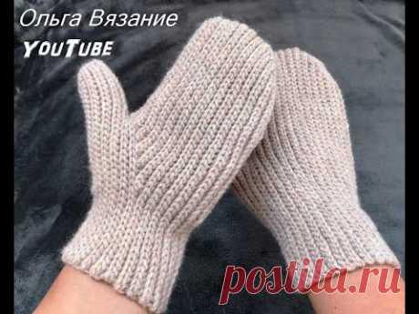 Вязание варежек крючком с анатомическим пальцем