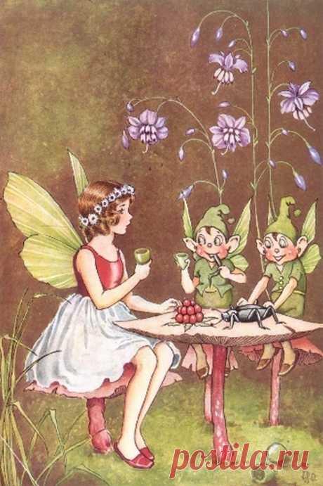 Австралийский иллюстратор Ida Rentoul Outhwaite (1888 - 1960)