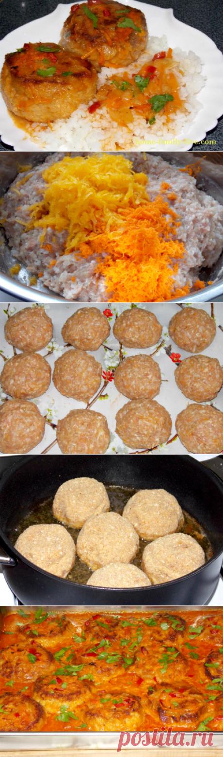 Тефтели в духовке/Сайт с пошаговыми рецептами с фото для тех кто любит готовить