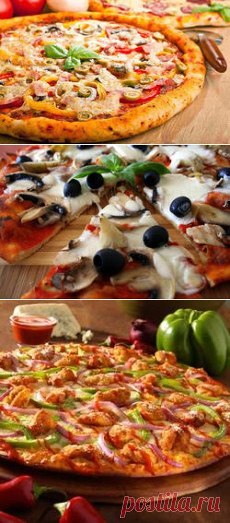 Лучшие рецепты итальянской пиццы - Еда - как стиль жизни на FashionTime.ru