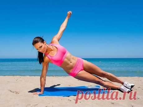 Упражнения для боков и талии: тренируем косые мышцы