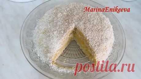 Постный торт Рафаэлло. Фантастически вкусный!