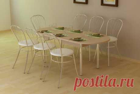 Купить Стол обеденный Квартет-1 в Москве за 6 440 руб.