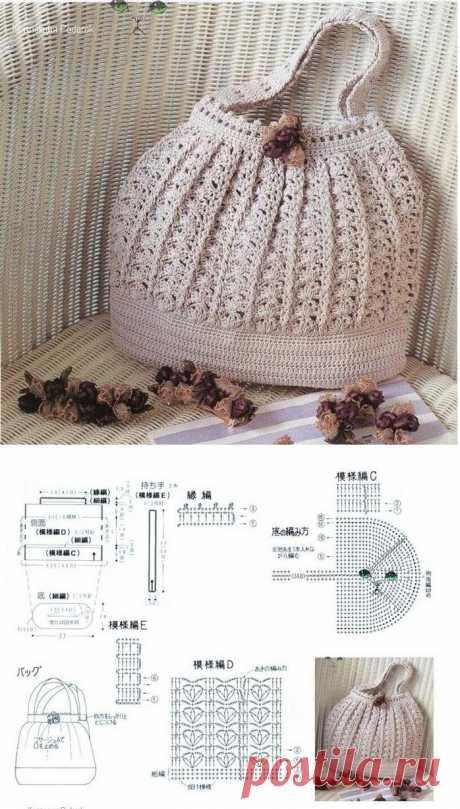 Los bolsos tejidos - los Regalos Tejidos <!--if (la Labor de punto) --> - Вязание<!--endif--> - la Instrucción de la fabricación de los regalos - los Regalos por las manos.