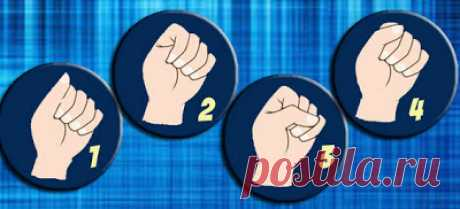 Сожмите ладонь в кулак и узнайте свой тип личности...