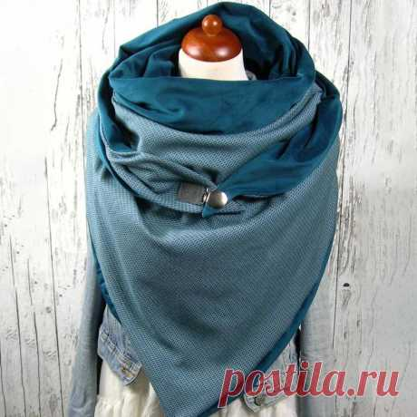 Women Cotton Plus Thick Keep Warm Winter Outdoor Casual Solid Color Multi-purpos - US$21.99