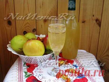 Домашний яблочный сидр: рецепт приготовления