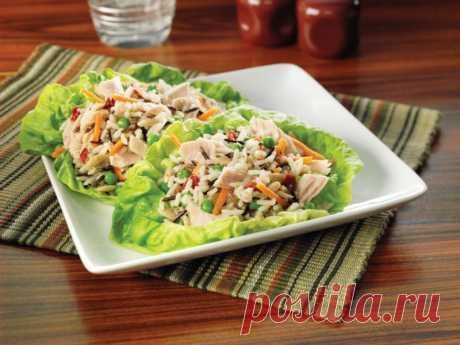 Салат из тунца консервированного — классический рецепт и 11 вариантов