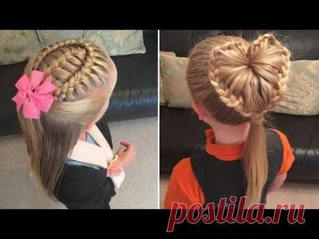 10 простых причёсок для девочек на каждый день