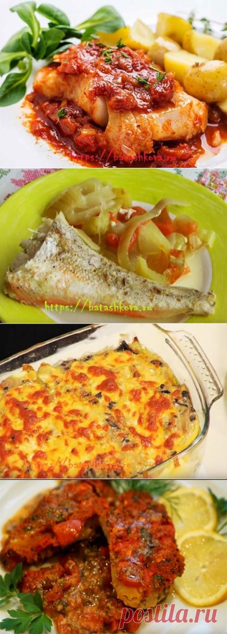 Треска, запеченная в духовке – вкусные рецепты с фото.