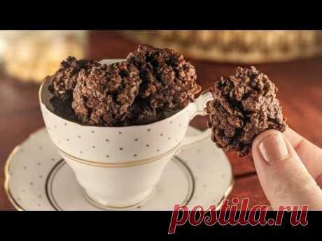 Печенье без муки: хрустящее и очень вкусное!