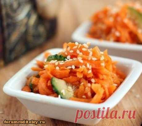 Острый салат из моркови :: #forumroditeley #форумродителей #социальнаясеть #дети