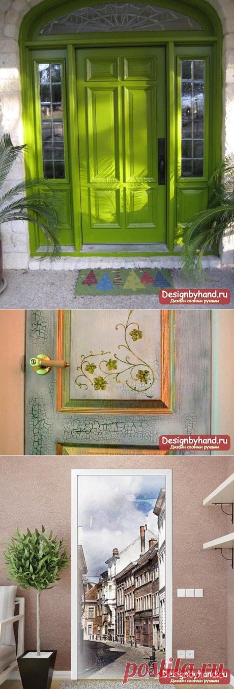 Декор дверей своими руками: ТОП-10 идей