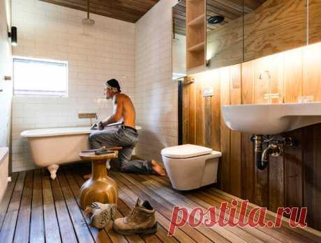 Ремонт на отлично: «Подводные камни» при ремонте ванной комнаты Почему важно планировать раскладку плитки на бумаге и на какой высоте правильно размещать подвесной унитаз