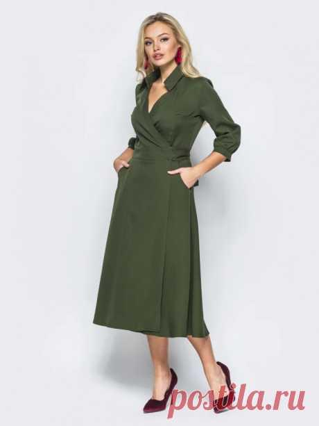 Выкройка платья с запахом Модная одежда и дизайн интерьера своими руками