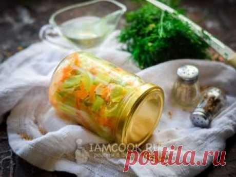 Кабачки с луком и морковью на зиму — рецепт с фото Кабачки с луком и морковью - вкусная и простая заготовка для разнообразия рациона.