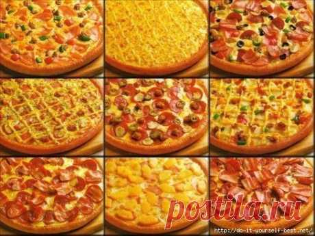 Самое вкусное тесто для любимой пиццы!