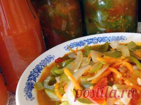 Салаты на зиму – 5 самых вкусных рецептов