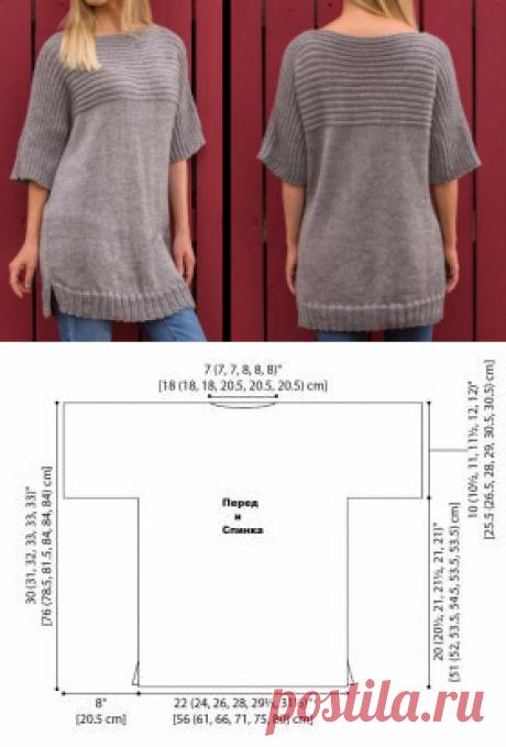 легко связать свитер