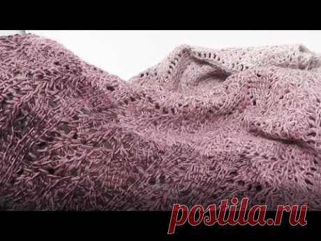 Tunisian Crocheting Scarf Project