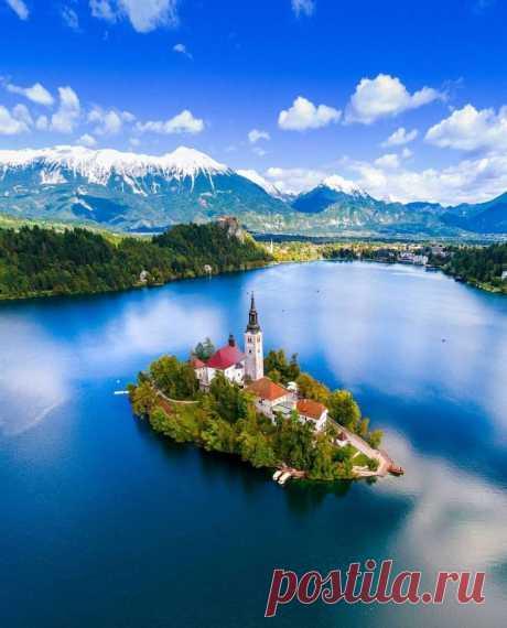 Остров Блед, Словения.