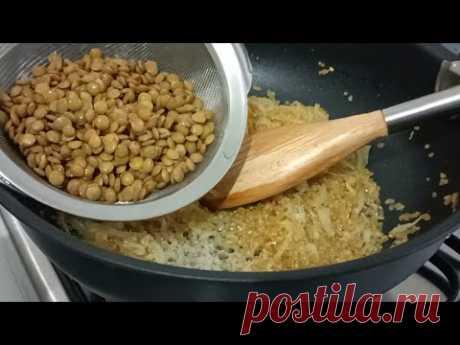 Смешайте рис с чечевицей! Никто не может отказать этому вкусу! Легко и полезно👌
