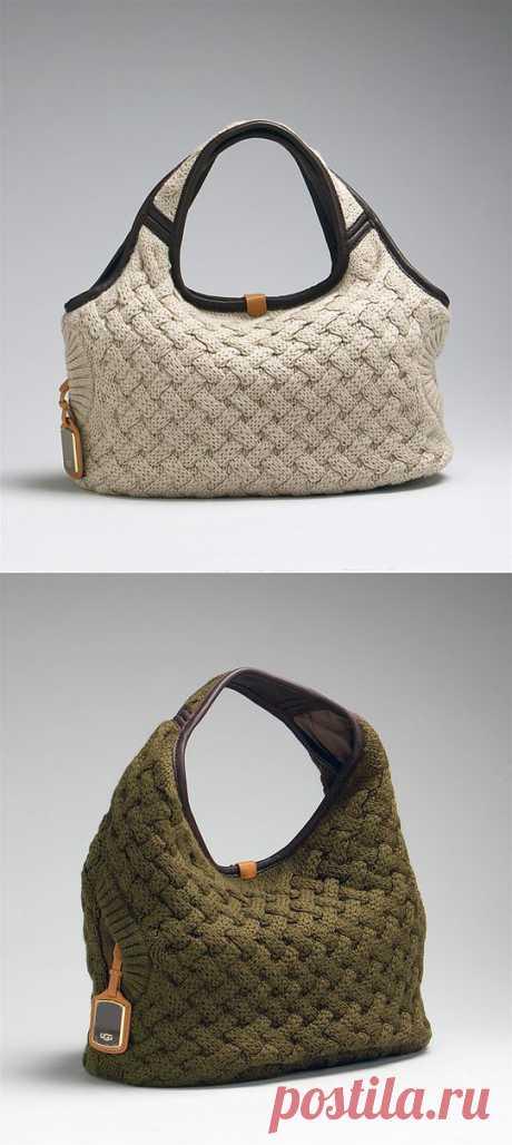 сумка - плетенка от ГПП. описание и схемы.  (нашла stasyaya)