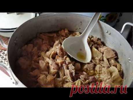 Тушенка из мяса кур ПОШАГОВО #2