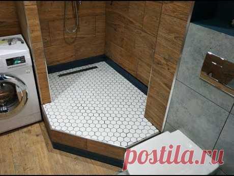 Интересные ДизайнерСкие Решения  при ремонте ванных комнат СовмеЩенной с Туалетом