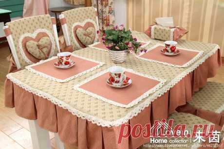 Шьем и украшаем кухню (скатерти,чехлы на стулья)